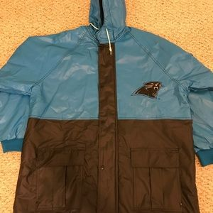 PRE-OWNED Carolina Panther Rain Jacket